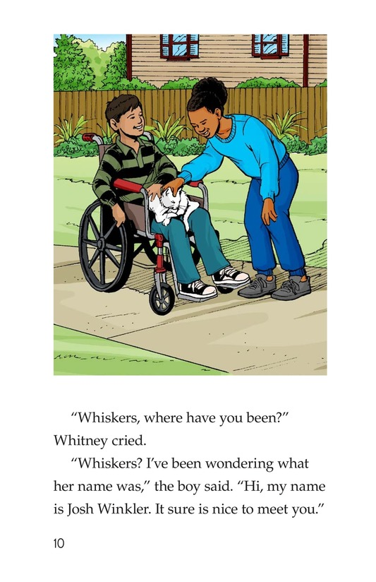 Book Preview For Where Is Whiskers? Page 10