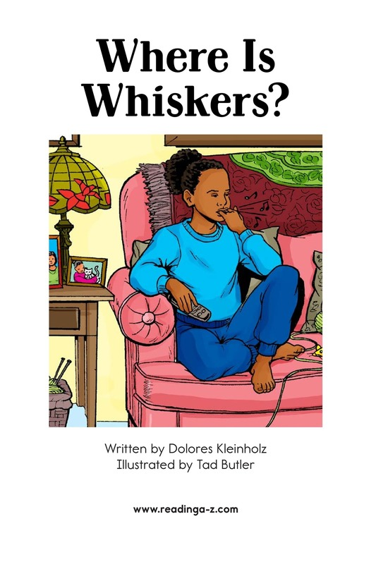 Book Preview For Where Is Whiskers? Page 2