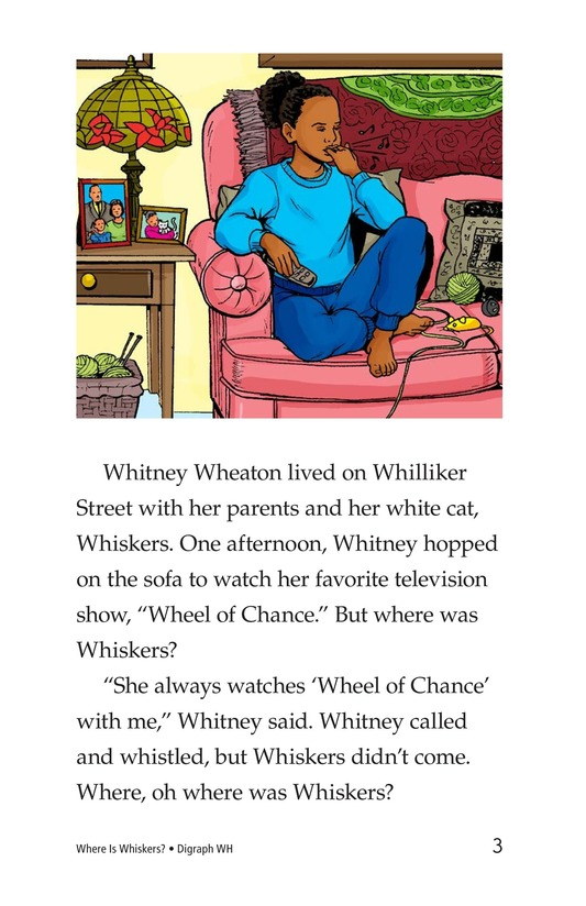 Book Preview For Where Is Whiskers? Page 3