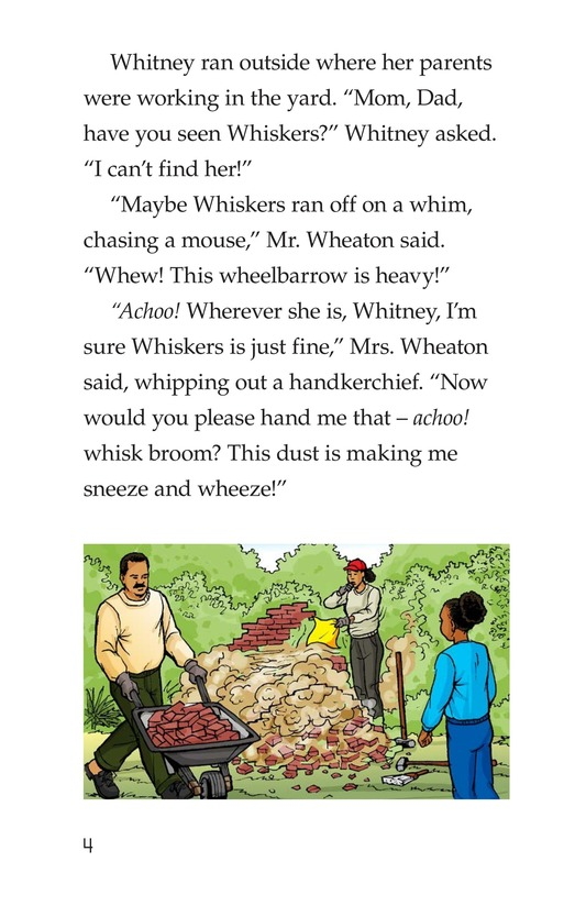 Book Preview For Where Is Whiskers? Page 4