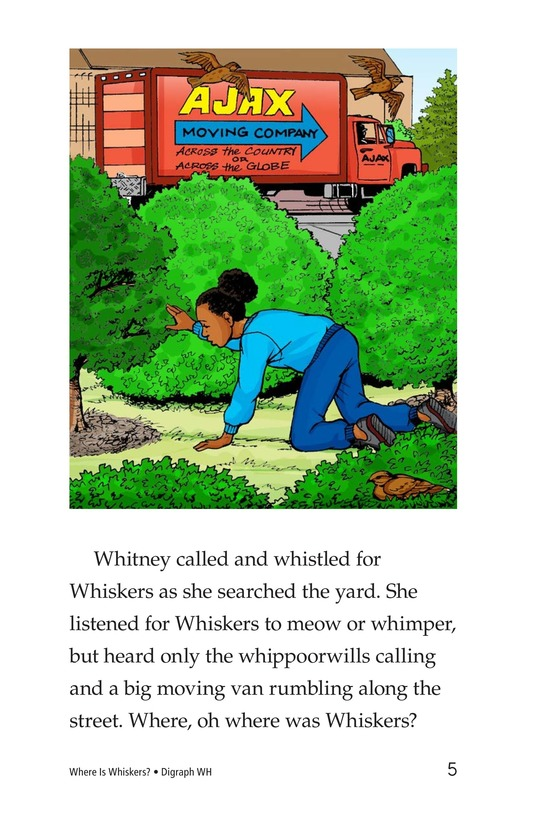 Book Preview For Where Is Whiskers? Page 5