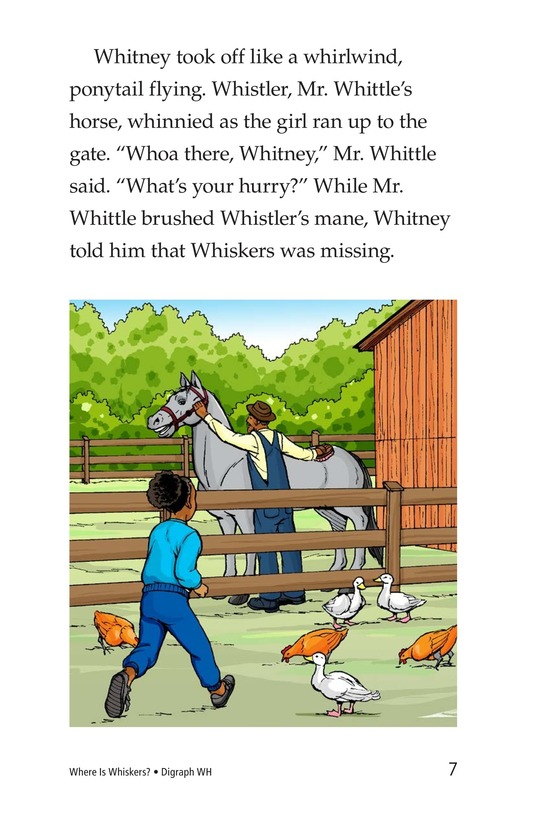 Book Preview For Where Is Whiskers? Page 7