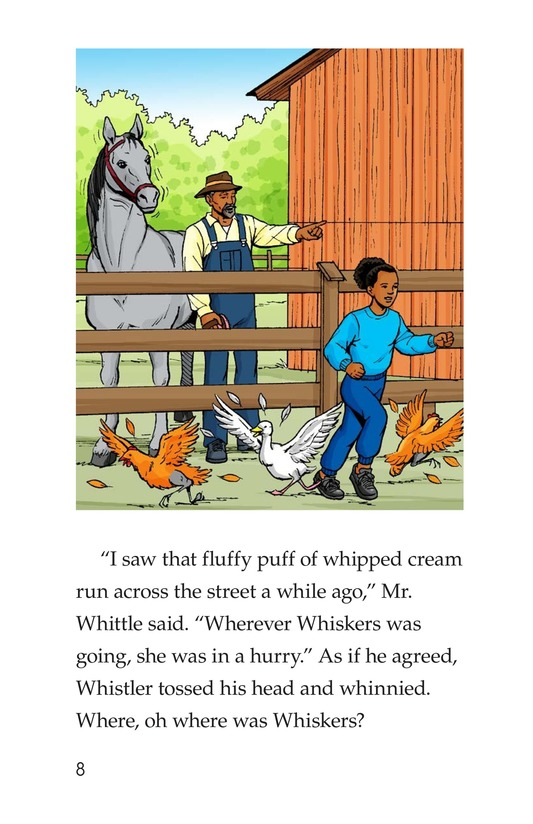 Book Preview For Where Is Whiskers? Page 8