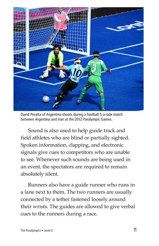 Book Preview For The Paralympics Page 11