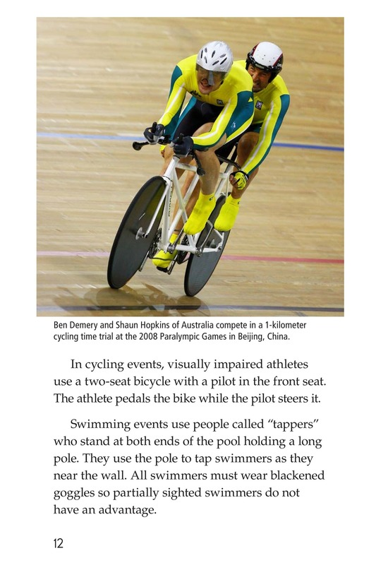 Book Preview For The Paralympics Page 12