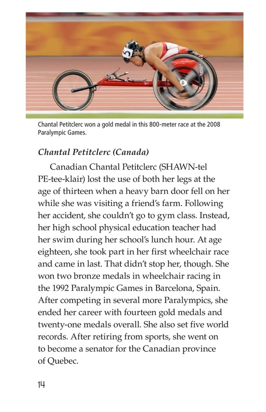 Book Preview For The Paralympics Page 14