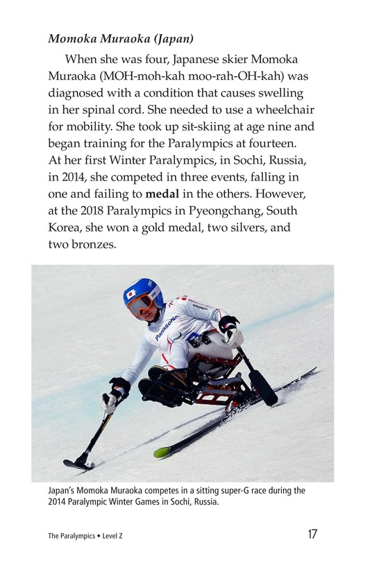 Book Preview For The Paralympics Page 17