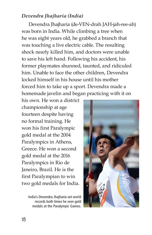 Book Preview For The Paralympics Page 18