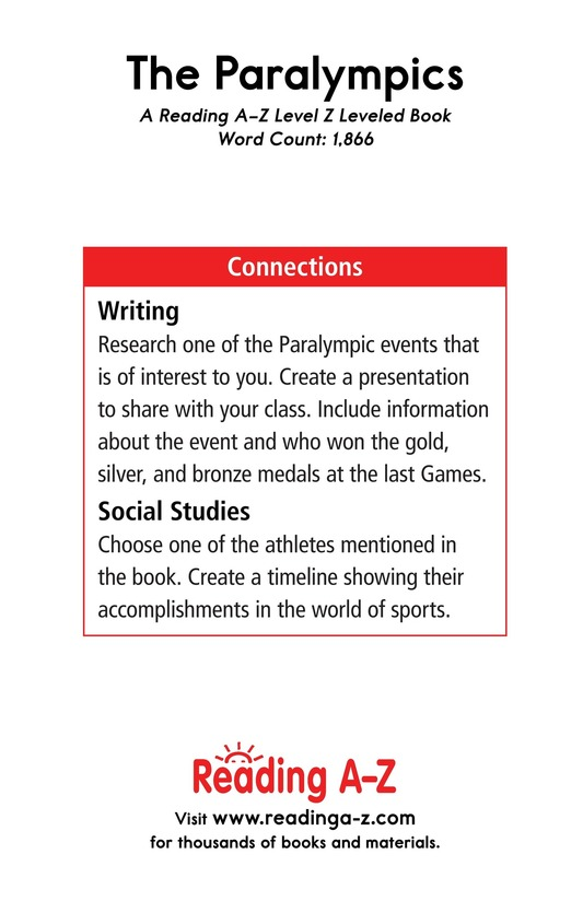 Book Preview For The Paralympics Page 21