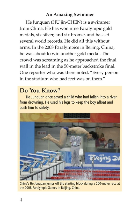Book Preview For The Paralympics Page 4