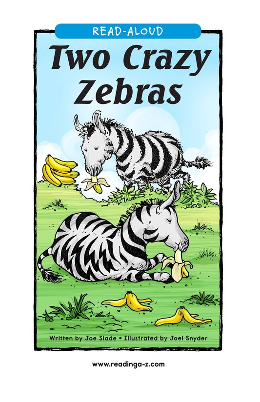 Book Preview For Two Crazy Zebras Page 1