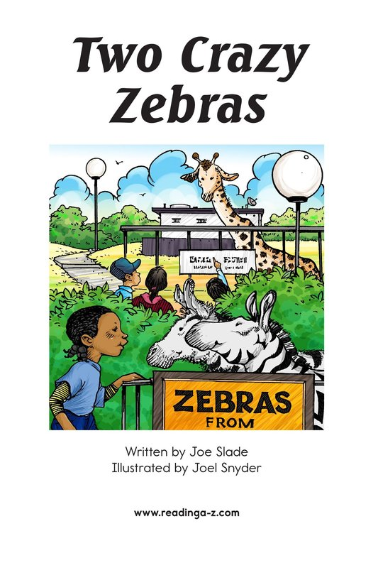 Book Preview For Two Crazy Zebras Page 2