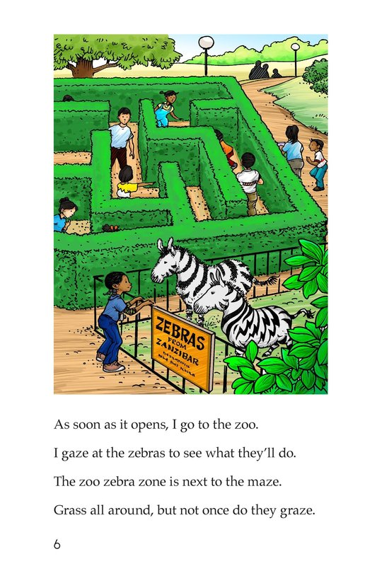 Book Preview For Two Crazy Zebras Page 6