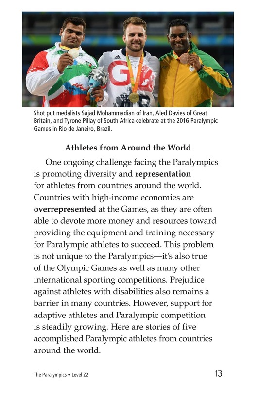 Book Preview For The Paralympics Page 13