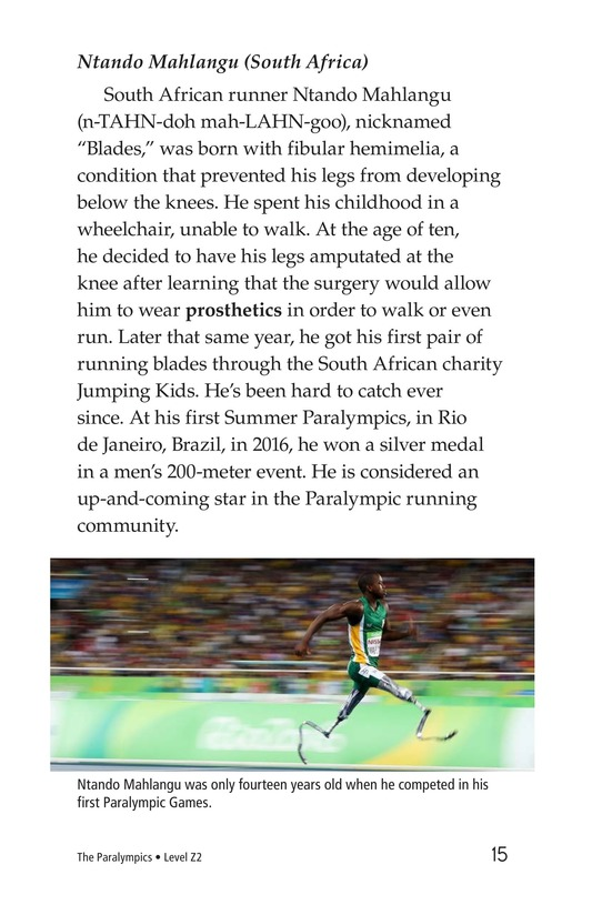 Book Preview For The Paralympics Page 15