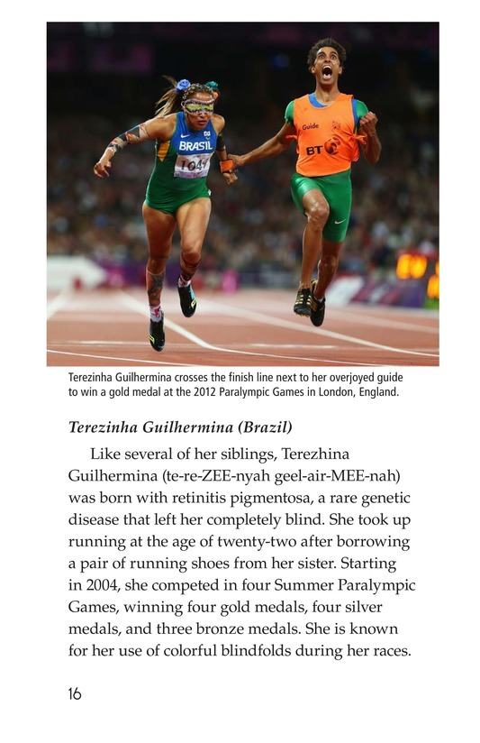 Book Preview For The Paralympics Page 16
