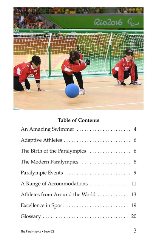 Book Preview For The Paralympics Page 3