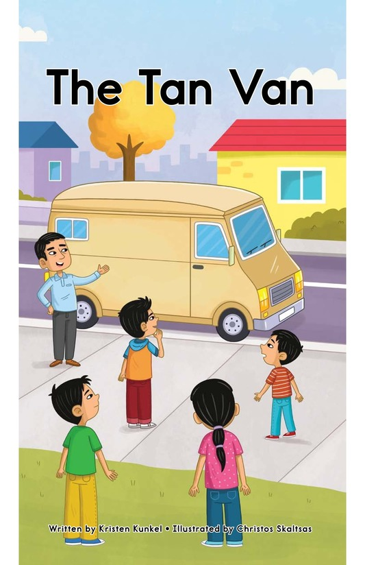 Book Preview For The Tan Van Page 1