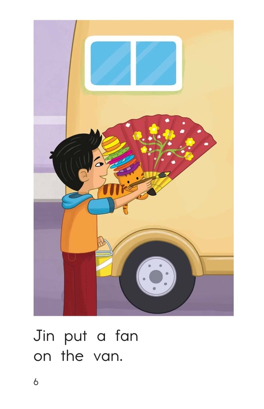 Book Preview For The Tan Van Page 6