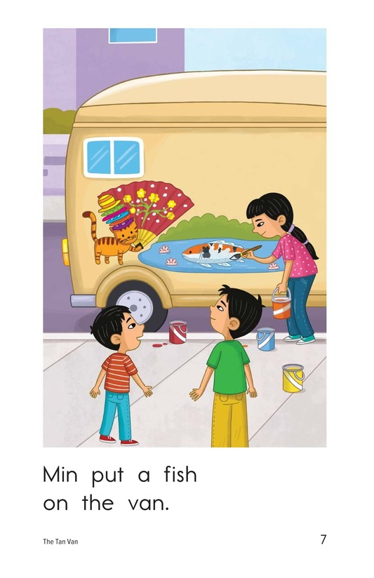 Book Preview For The Tan Van Page 7
