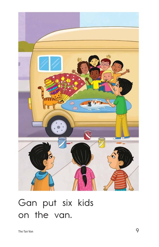 Book Preview For The Tan Van Page 9