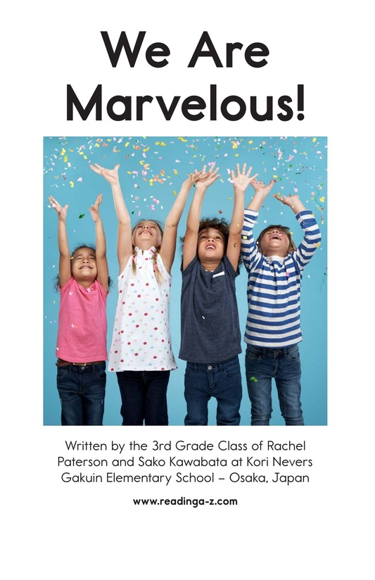 Book Preview For We Are Marvelous Page 2