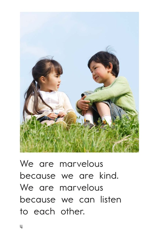 Book Preview For We Are Marvelous Page 4