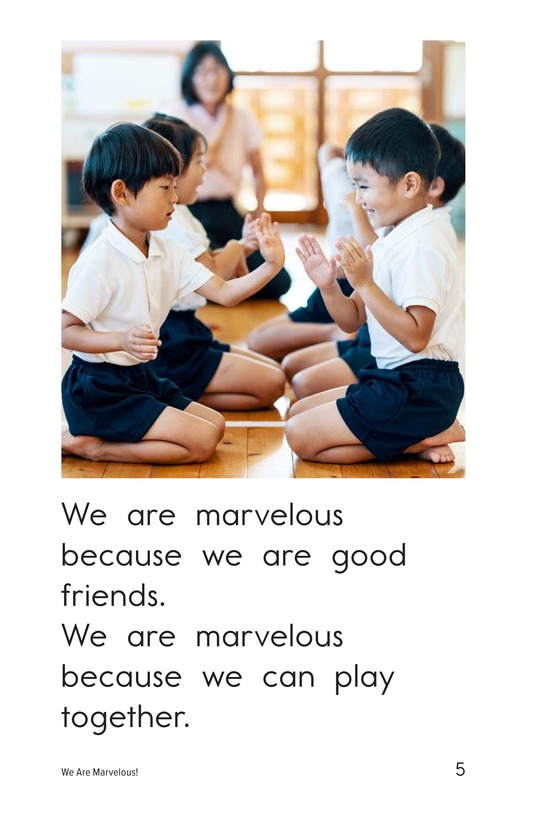Book Preview For We Are Marvelous Page 5