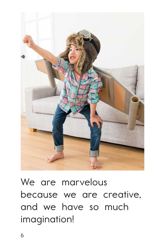 Book Preview For We Are Marvelous Page 6