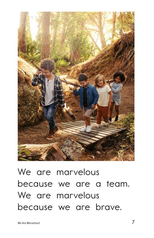 Book Preview For We Are Marvelous Page 7