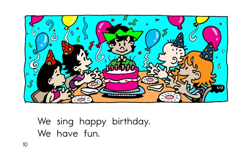 Book Preview For Birthday Party Page 10