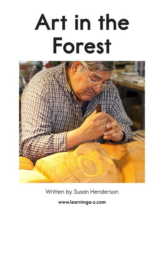 Book Preview For Art in the Forest Page 2