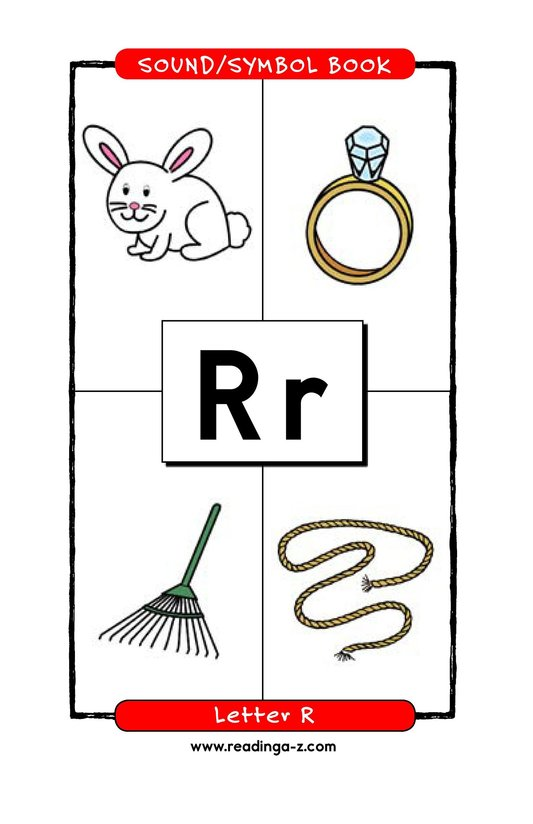 Book Preview For Consonant Letter R Page 1