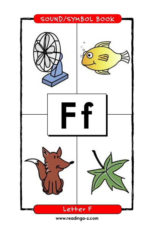 Book Preview For Consonant Letter F Page 1