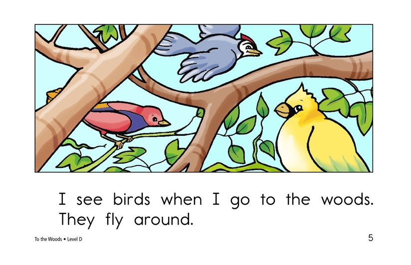 Book Preview For To the Woods Page 5