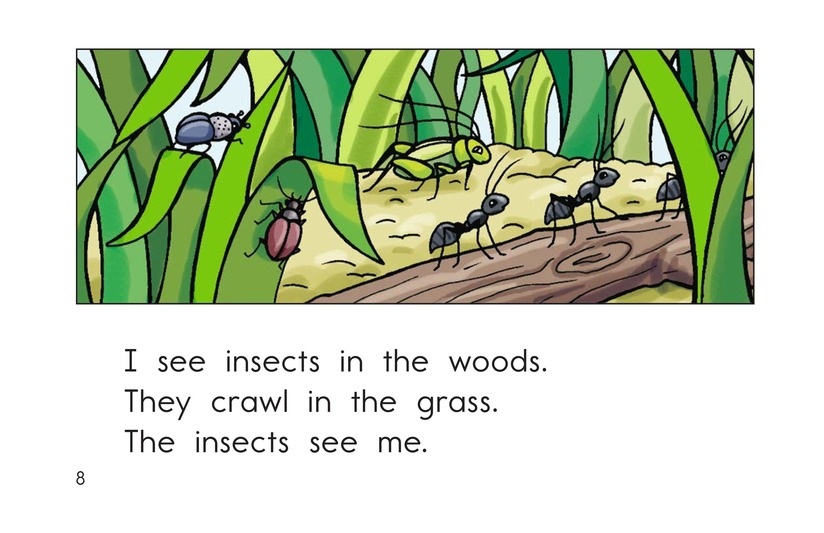 Book Preview For To the Woods Page 8