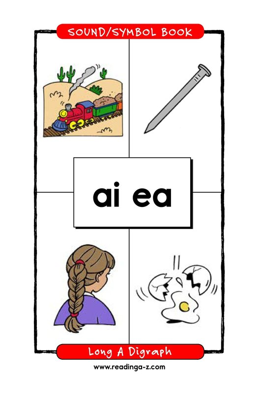 Book Preview For Long A Digraph Page 1