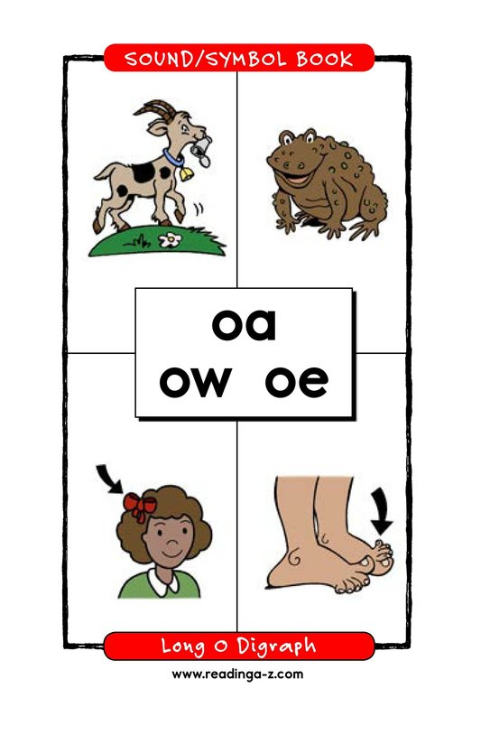 Book Preview For Long O Digraph Page 1