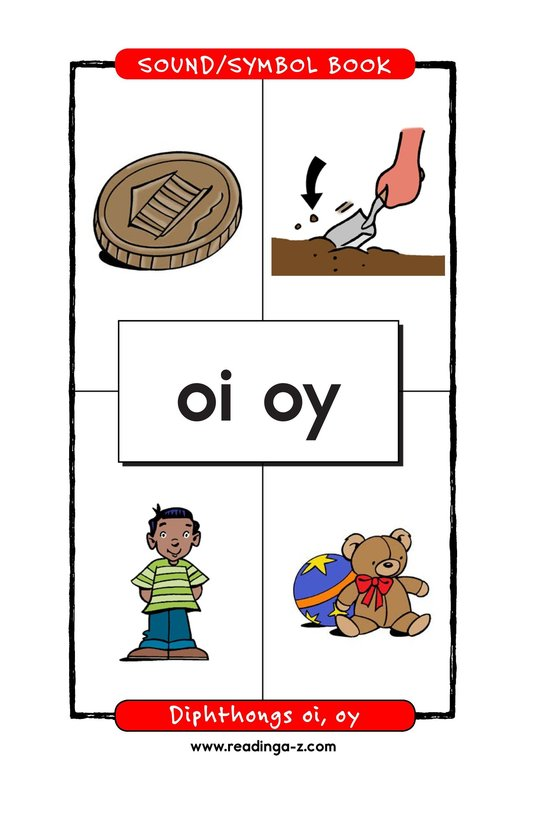 Book Preview For Diphthongs oi, oy Page 1
