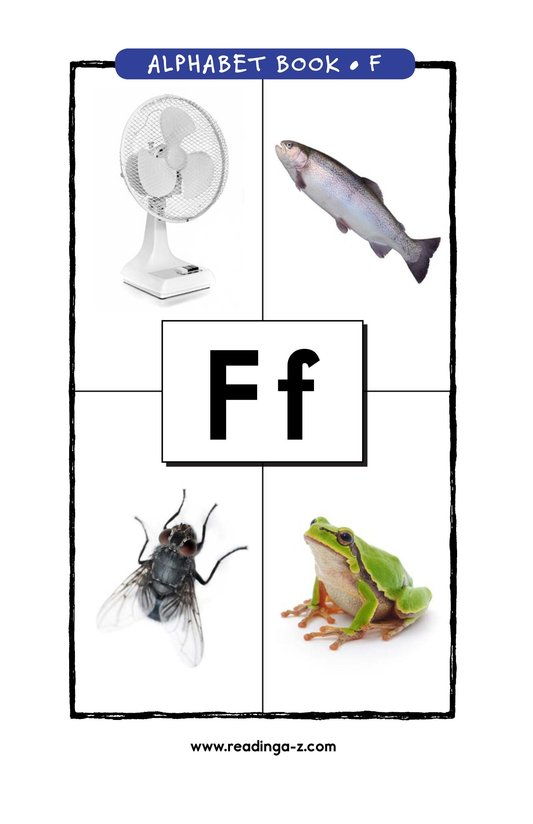 Book Preview For Letter F Page 1