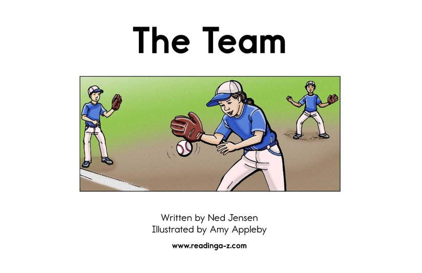 Book Preview For The Team Page 2