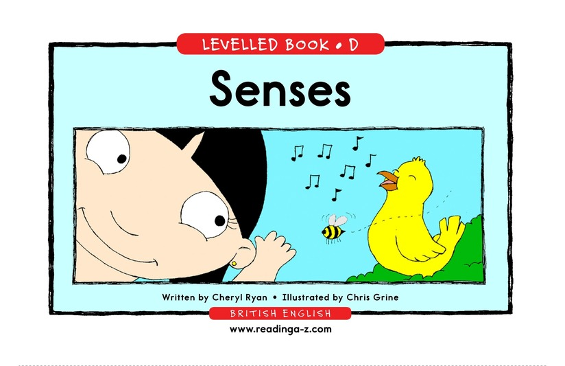 Book Preview For Senses Page 1