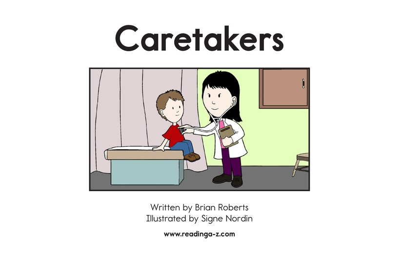 Book Preview For Caretakers Page 2