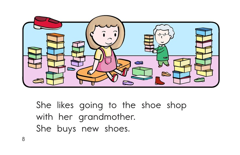 Book Preview For To the Store Page 8