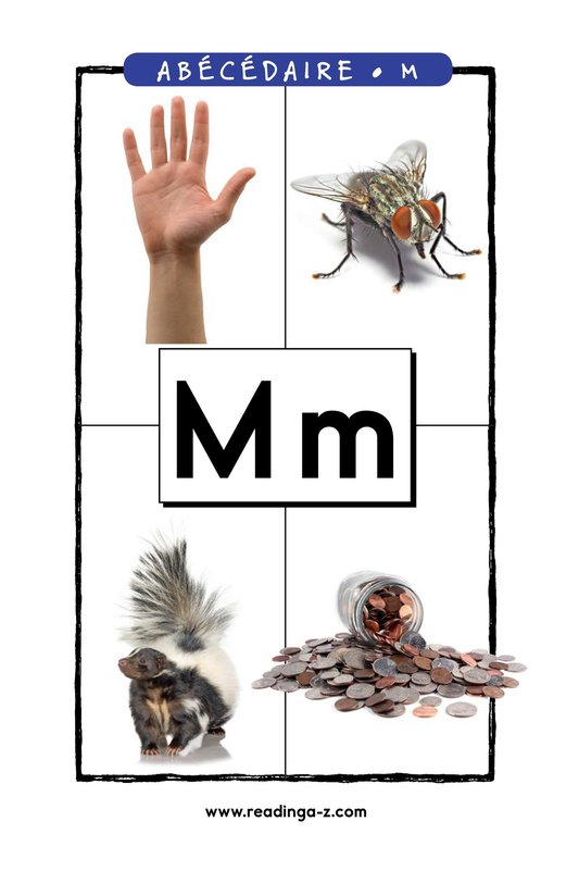 Book Preview For Letter M Page 1