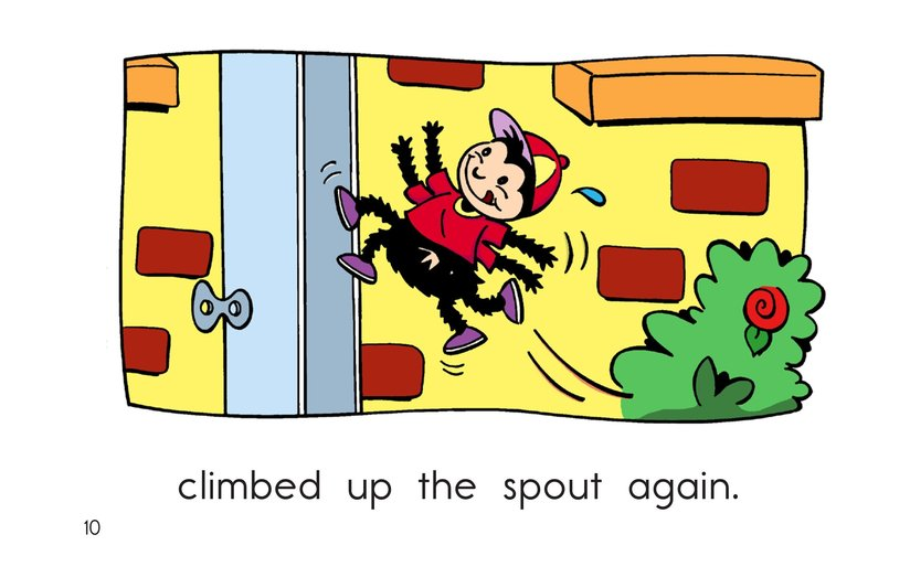 Book Preview For The Itsy Bitsy Spider Page 10