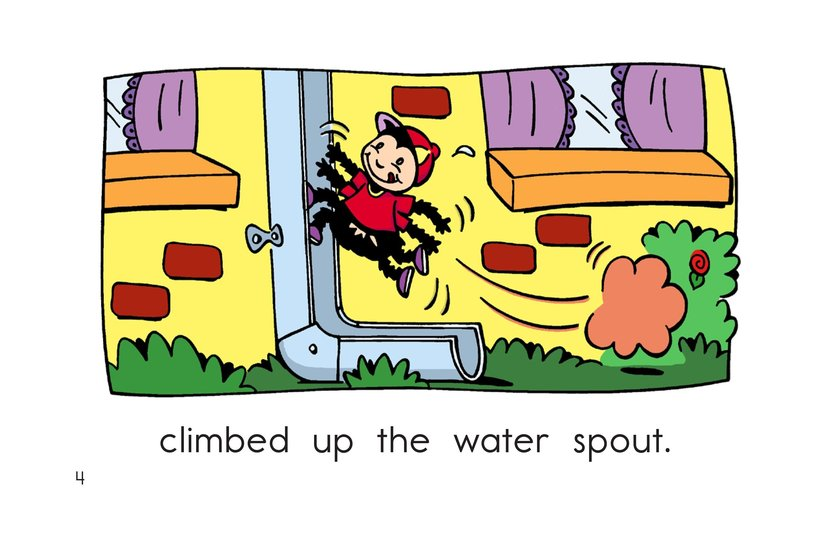 Book Preview For The Itsy Bitsy Spider Page 4