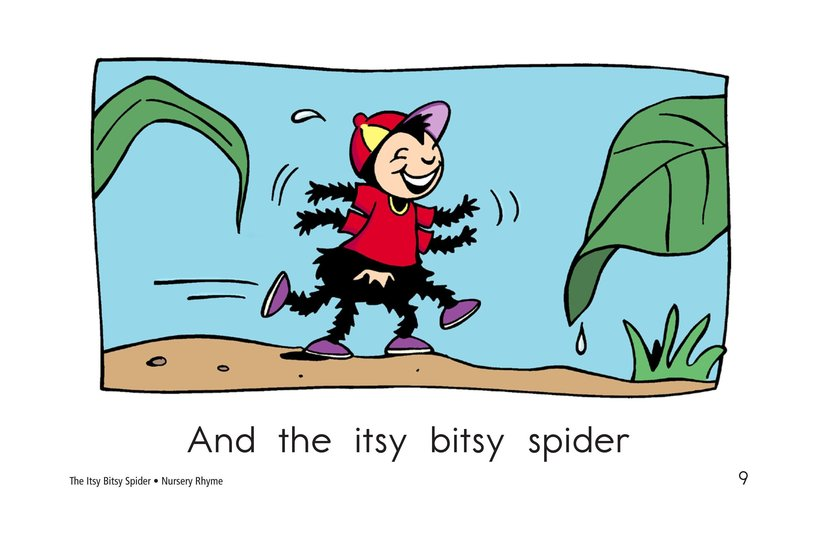 Book Preview For The Itsy Bitsy Spider Page 9