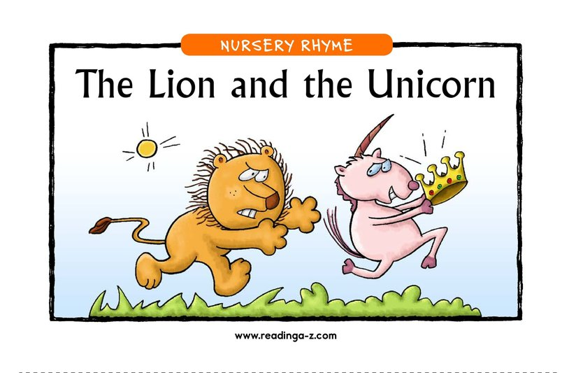 Book Preview For The Lion and the Unicorn Page 1