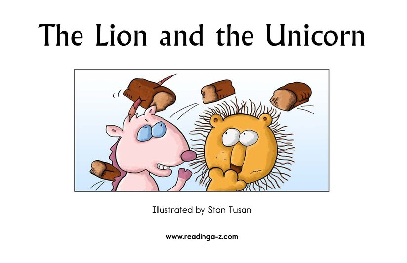 Book Preview For The Lion and the Unicorn Page 2
